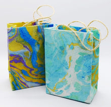 Load image into Gallery viewer, Gift bag, Marbled, small