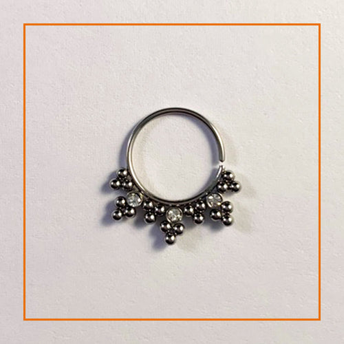 Jewelled Twist Ring