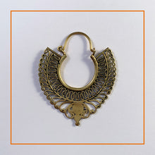 Load image into Gallery viewer, Persian Inspired Brass Earrings