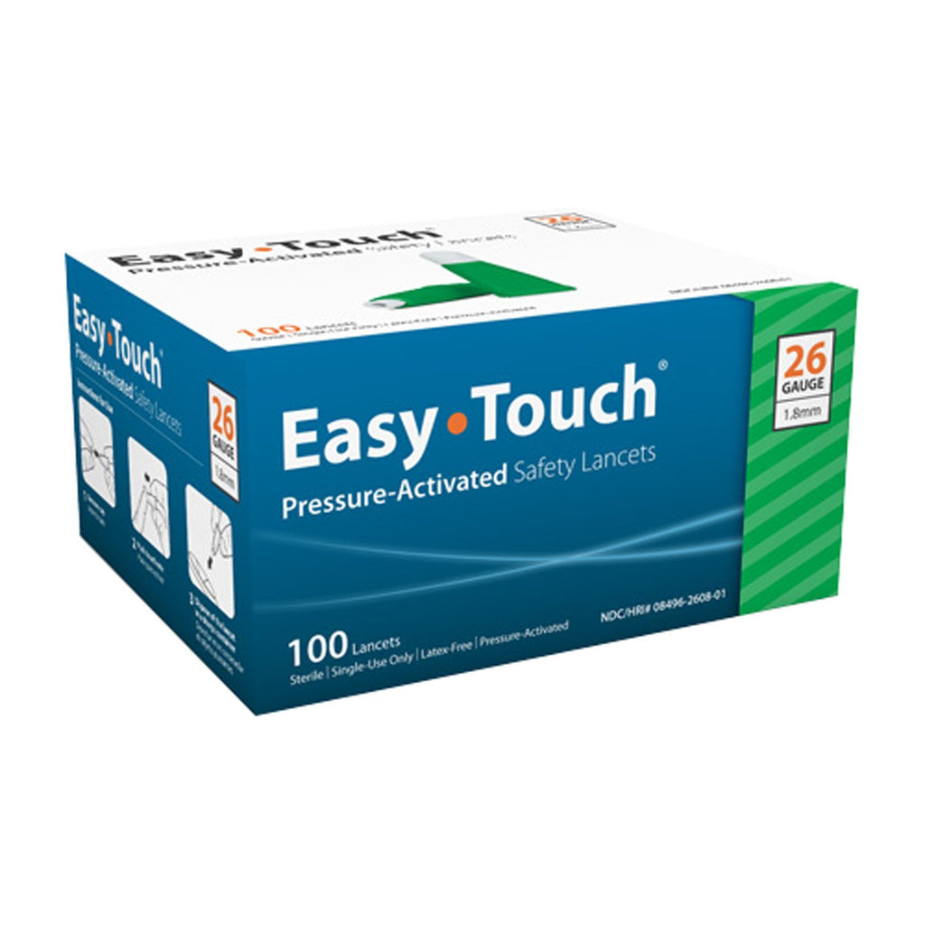 EasyTouch® Pressure Activated Safety Lancets