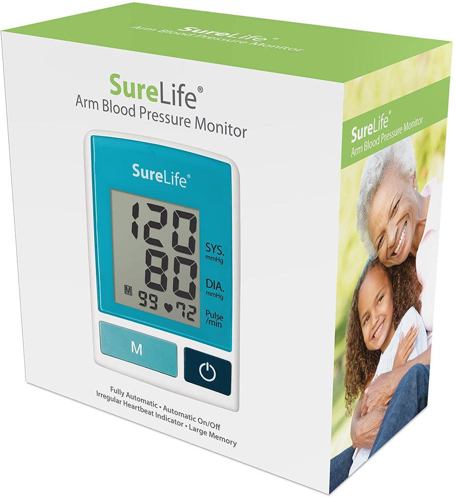 SureLife Arm Blood Pressure Monitor w/Standard Cuff - (1 per Box)