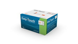 Easy Touch 29 Gauge Insulin Syringes - 100