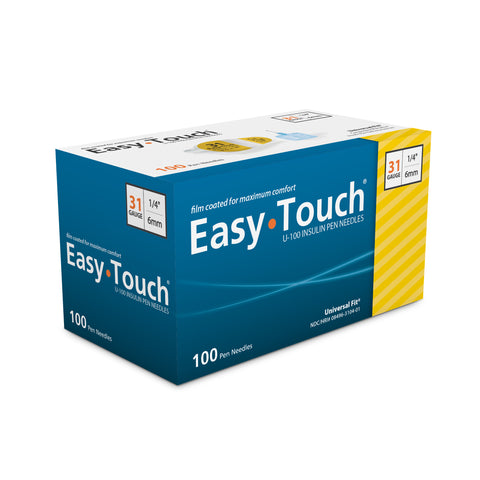 Image of EasyTouch® Pen Needles –  31g 100 count