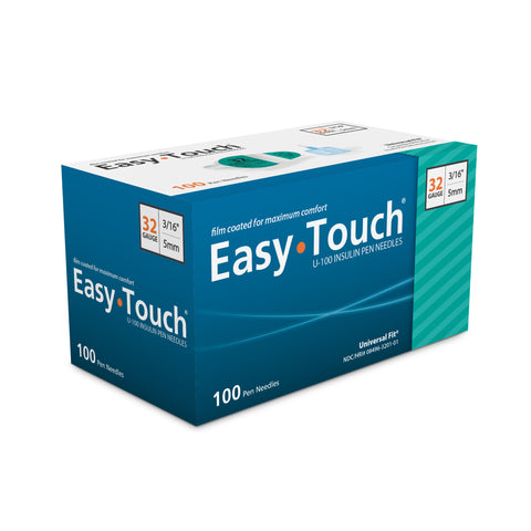 EasyTouch® Pen Needles – 32g 100 count
