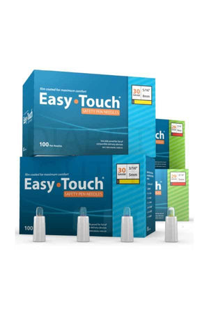 Easy Touch Safety Pen Needles