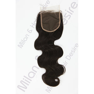 Virgin Peruvian Body Wave Lace Closure