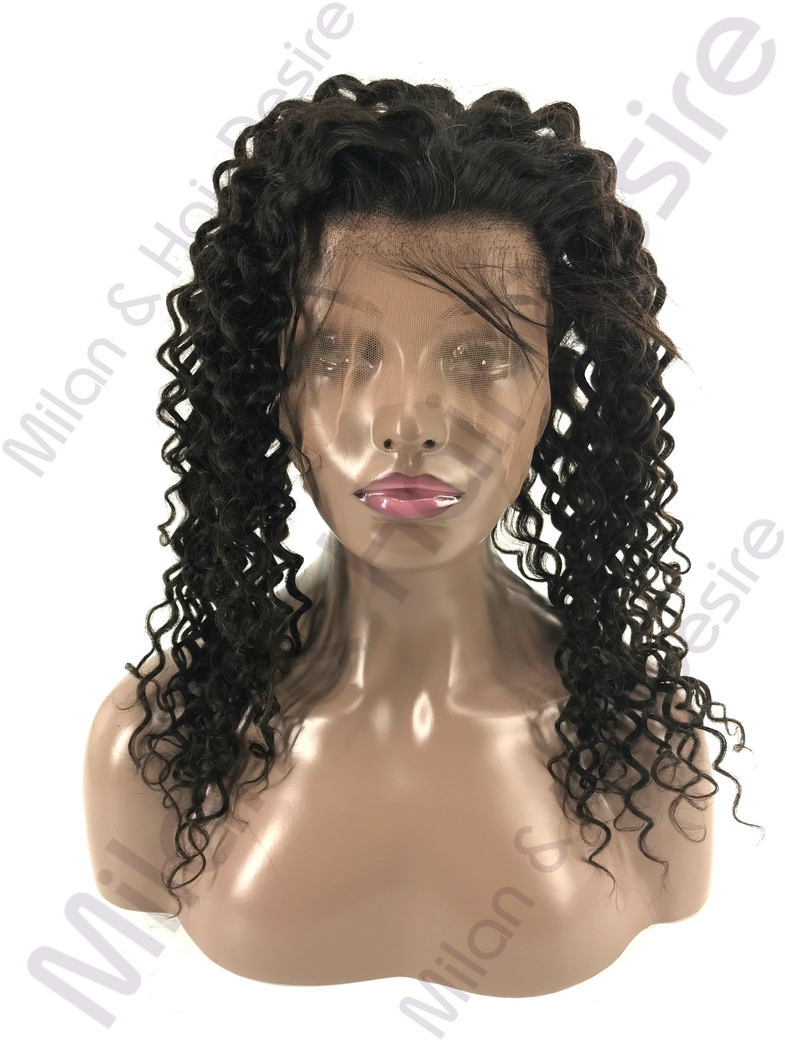 Virgin Peruvian Deep Curl 360 Lace Frontal
