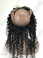 Virgin Peruvian Deep Curl 360 Lace Frontal Back