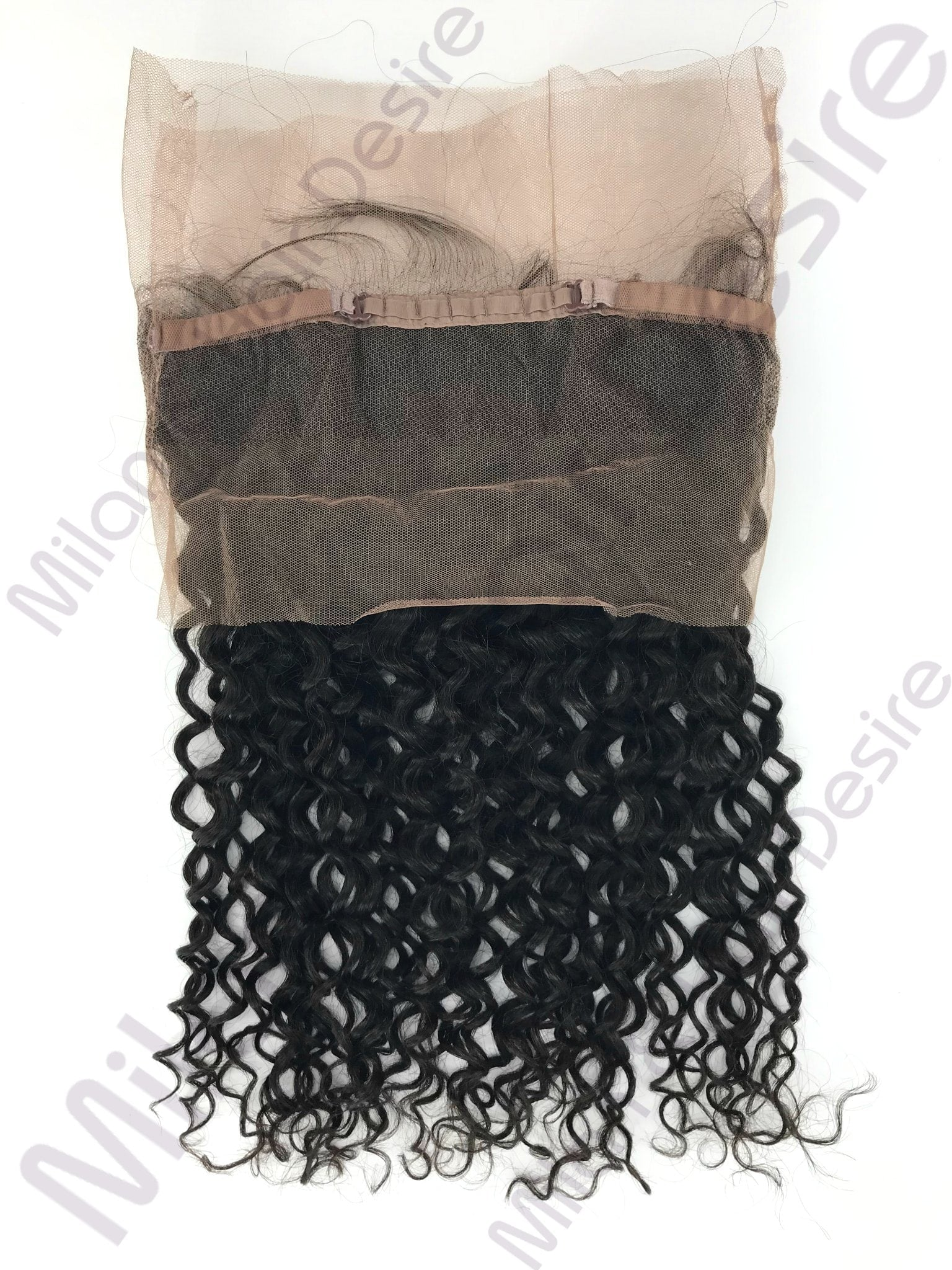 Virgin Peruvian Deep Curl 360 Lace Frontal Packaging