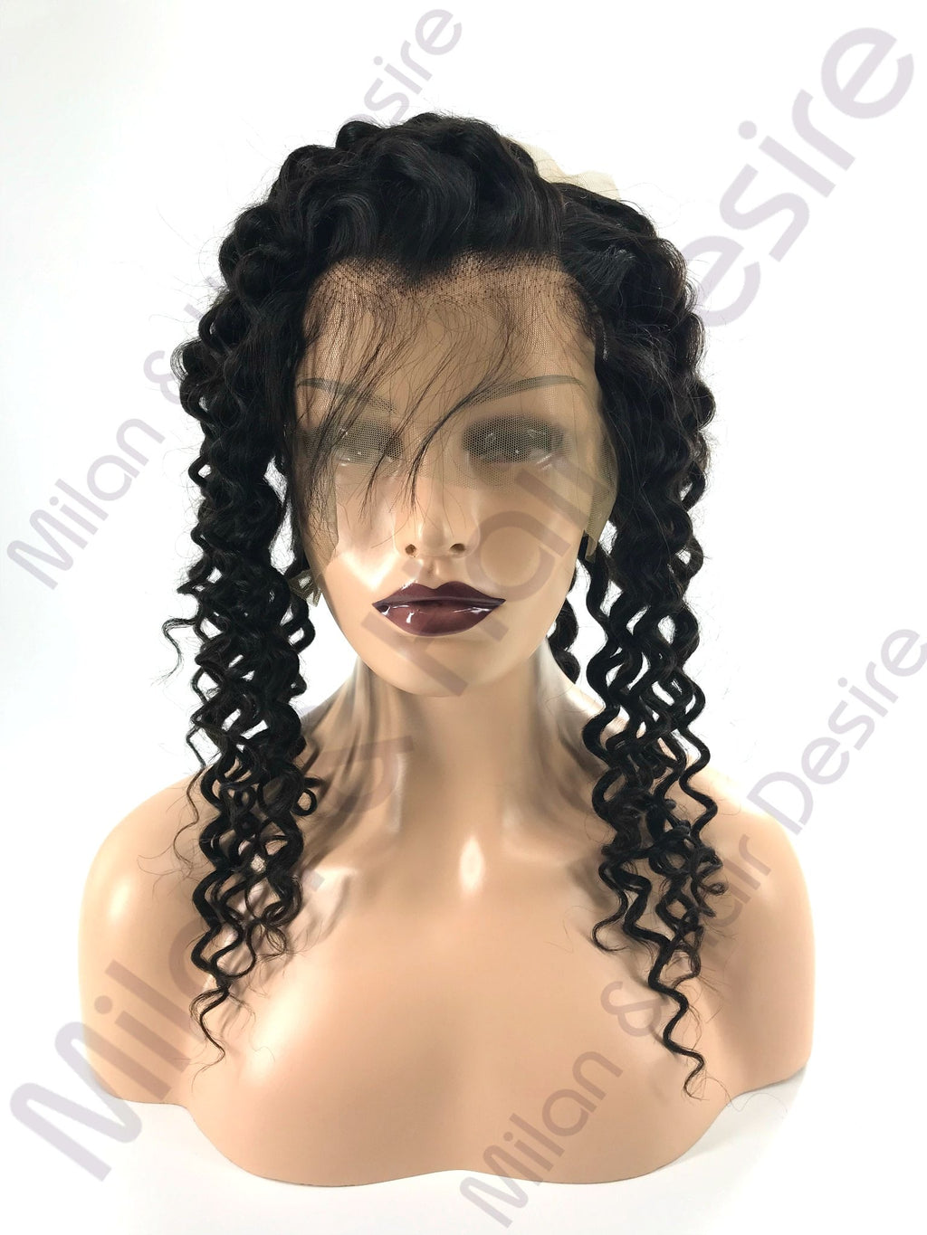 Virgin Peruvian Deep Wave 360 Lace Frontal