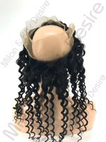 Virgin Peruvian Deep Wave 360 Lace Frontal Back