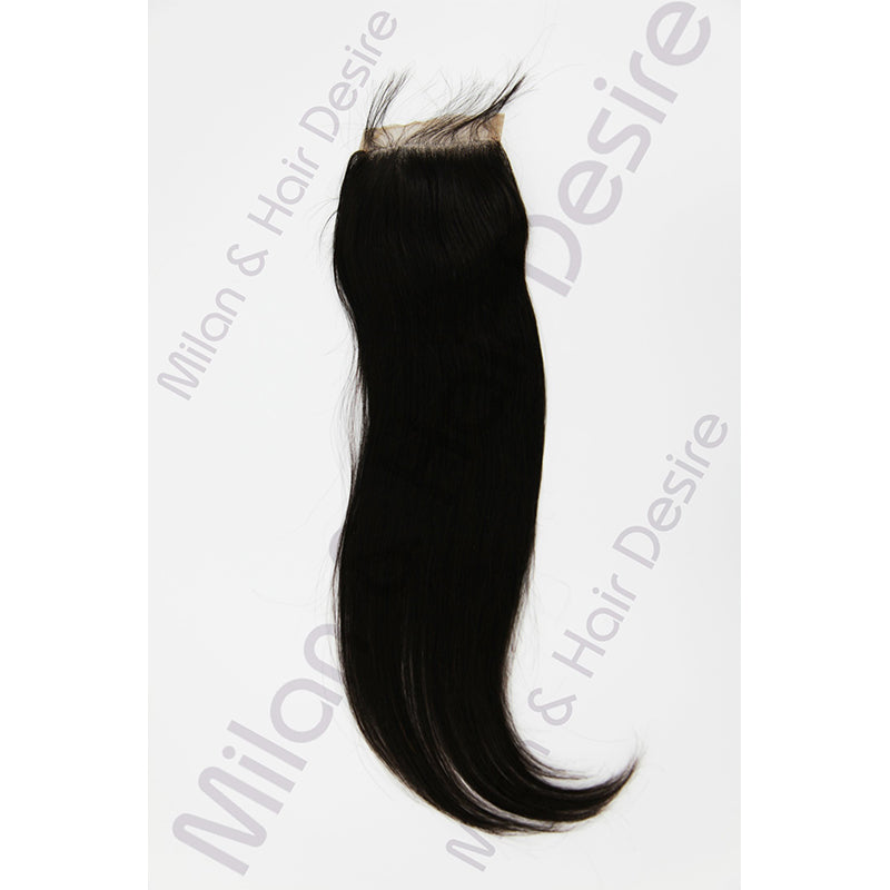 Virgin Peruvian Straight Lace Closure