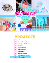 Load image into Gallery viewer, 10 Science Activity Cards: CLASSICS