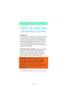 10 Science Activity Cards: CLASSICS