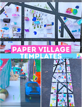 Load image into Gallery viewer, Paper Village Templates