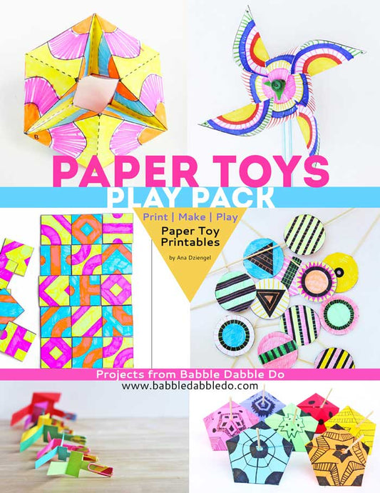 Paper Toys Play Pack