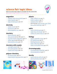 Science Fair Mini Guide for Kids