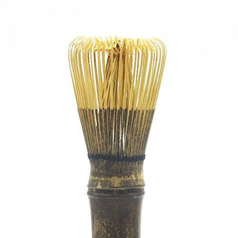 Long Handle Bamboo Matcha Green Tea Whisk (Dark)