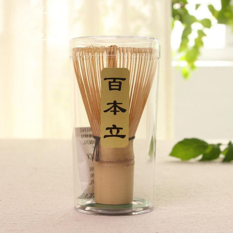 Handmade Bamboo Matcha Green Tea Whisk (Chasen) - 48 Prongs