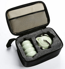 Portable Ceramic Tea Set