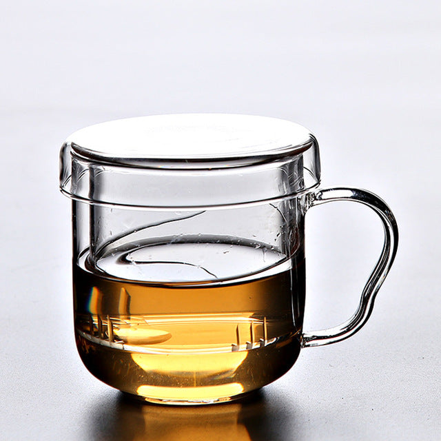Glass Teacup with Infuser