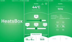 Smart HeatsBox (App-gesteuert)