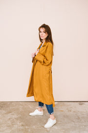 trench Sabriya Frnch coloris camel Bonny Lyon