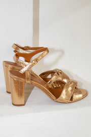 Sandales chaussures no.440 Gold Rivecour Bonny Lyon