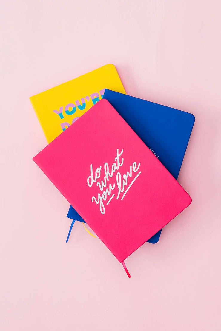Carnet Do What You Love Studio Jonesie