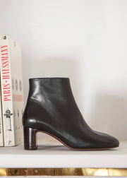 Bottines no.290 Cuir Noir
