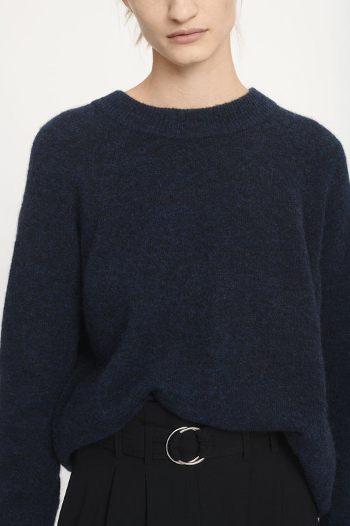 Pull Nor Long Dark Blue Samsoe Samsoe