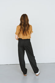 Pantalon Painted Stripes Anthracite Bellerose Bonny Lyon