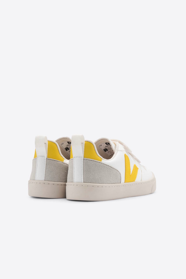 Baskets Kids V-10 Tonic Jaune Veja Bonny Lyon