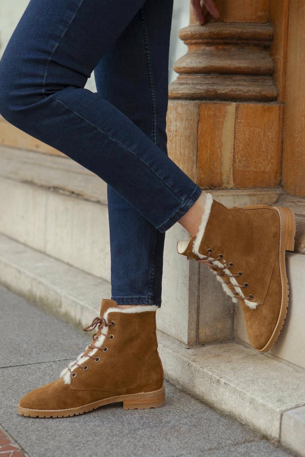 Bottines no.499 Ecorce