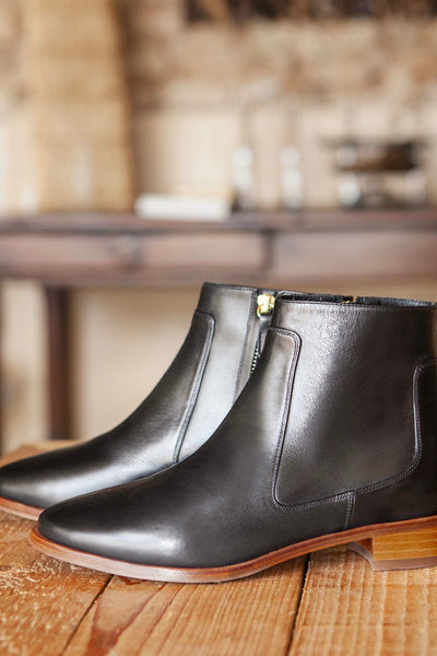 Bottines no.67 cuir Noir