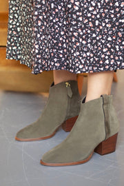 Bottines no.704 Kaki
