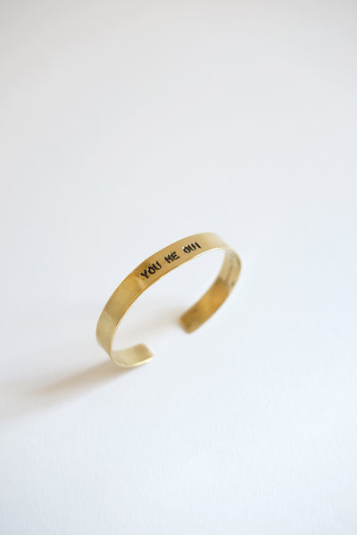 "Bracelet Small Mantra ""You Me Oui"" Atelier 7/12"