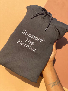 "Black ""Support The Homies"" Hoodie"