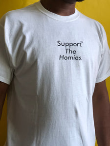 Support The Homies Classic Tee WHITE