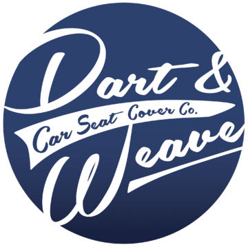 Dart & Weave Car Seat Cover Co Logo