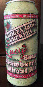 Lucy's Strawberry Sour Wheat Ale