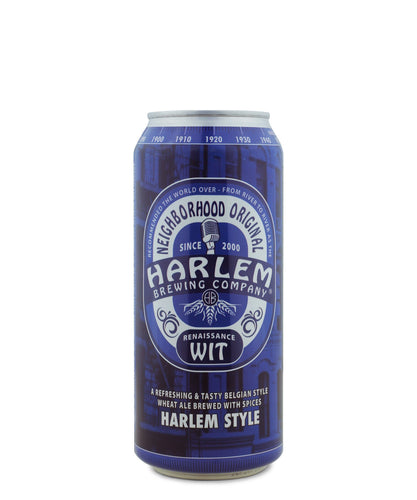 Renaissance Wit by Harlem Brewing Company delivered by TapRm
