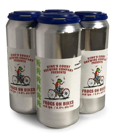 Frogs on Bikes Red IPA