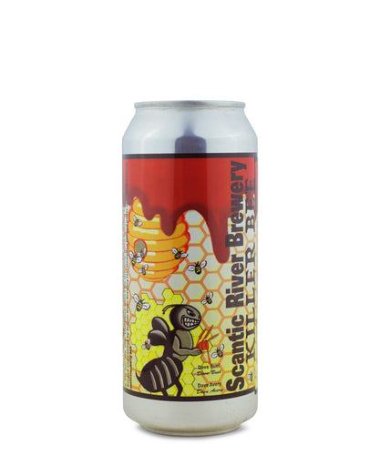 Killer Bee Double Honey Ale by Scantic River Brewery delivered by TapRm