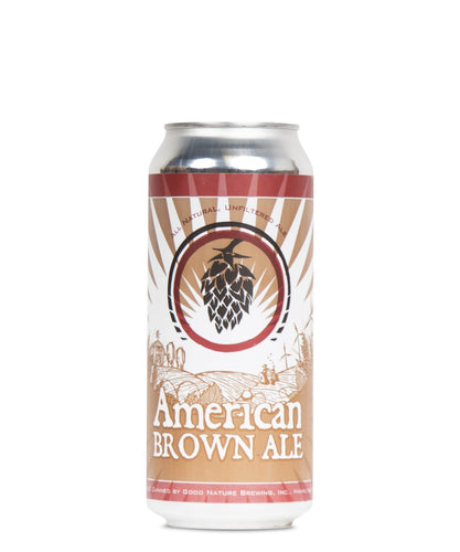 American Brown Ale - Good Nature Delivered By TapRm