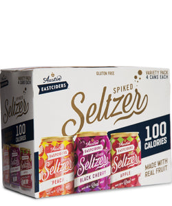 Austin Spiked Seltzer Variety 12 Pack - Austin Eastciders Delivered By TapRm