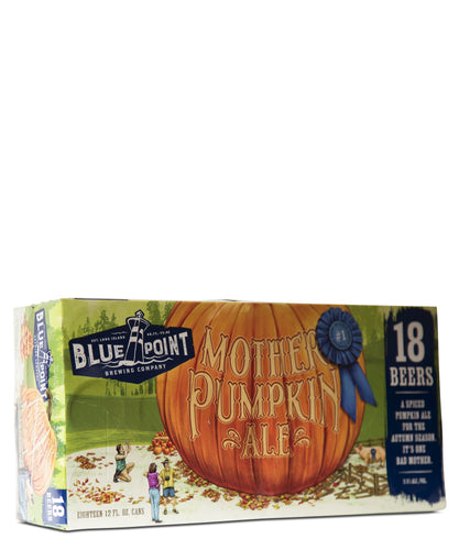 Blue Point Mother Pumpkin Ale 18 Pack - Blue Point Brewing Delivered By TapRm