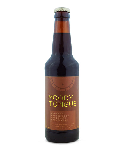 Bourbon Barrel Aged Chocolate Barleywine - Moody Tongue Brewing Company Delivered By TapRm