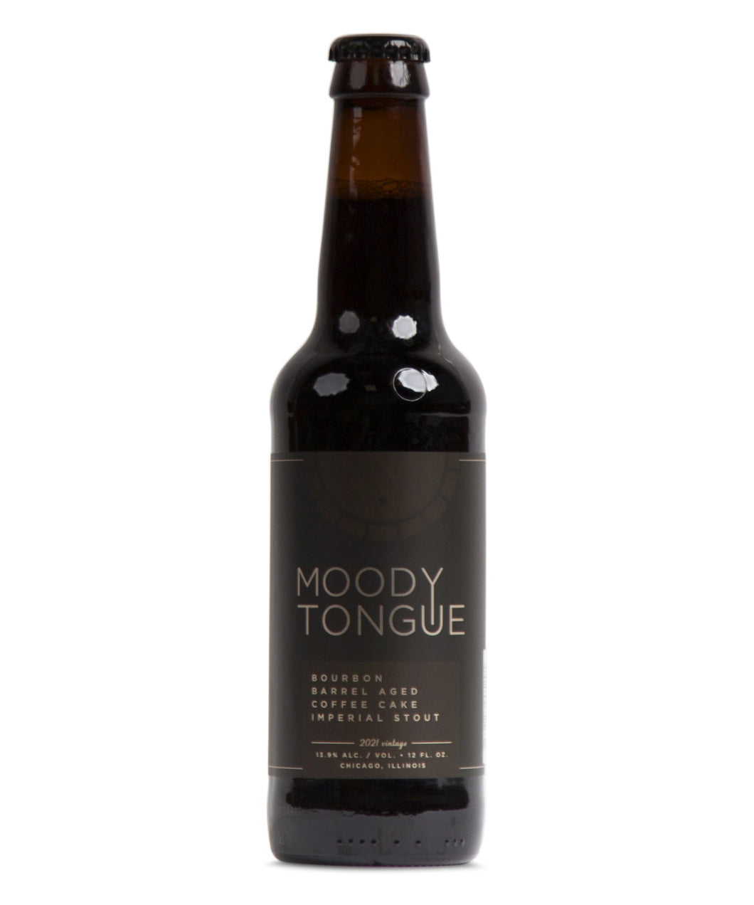 Bourbon Barrel Aged Coffee Cake Imperial Stout - Moody Tongue Brewing Company Delivered By TapRm