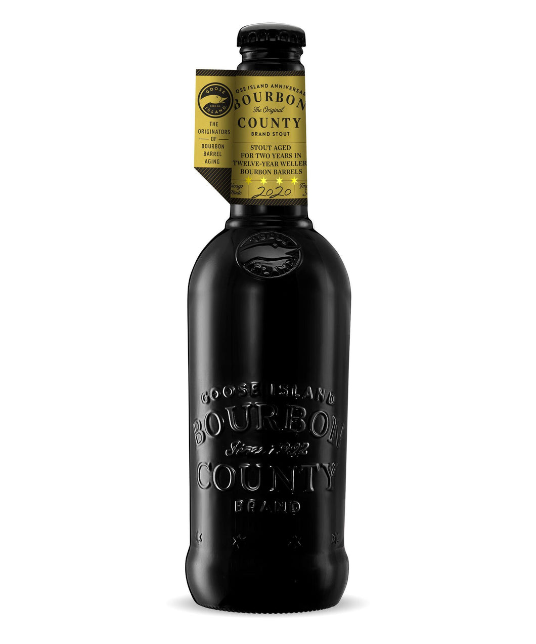 Bourbon County Stout 2020 Anniversary - Goose Island Brewing Company Delivered By TapRm